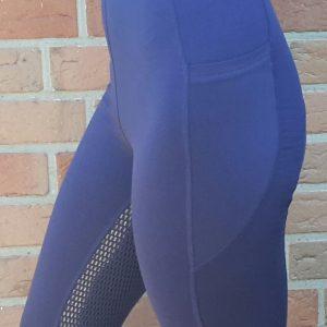 Leggings Vollbesatz Silikon Navy Blau