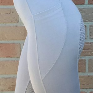 Leggings Vollbesatz Silikon Grau